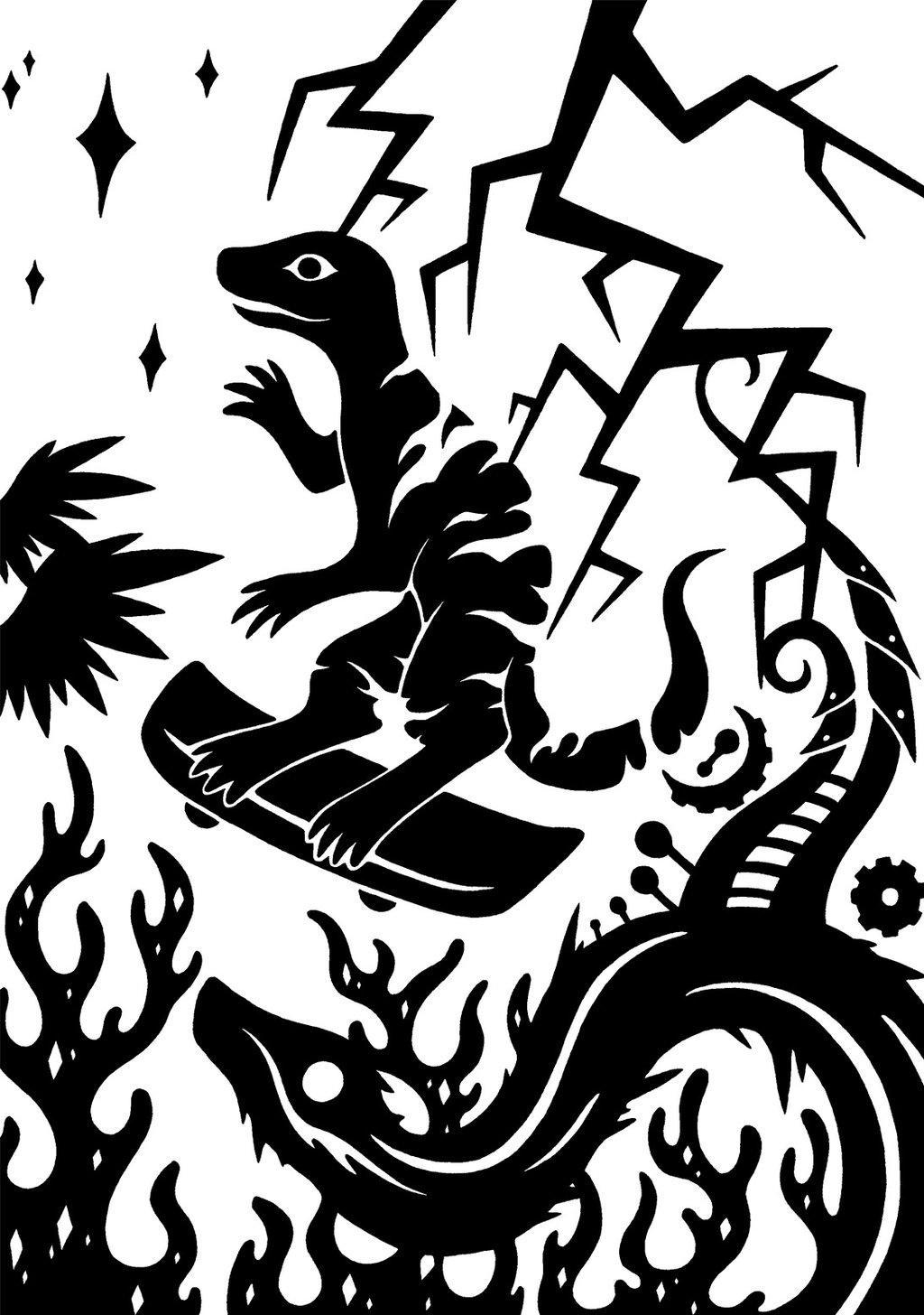 SCP-2014 - 蜥蜴里的邪神Zsar Magoth