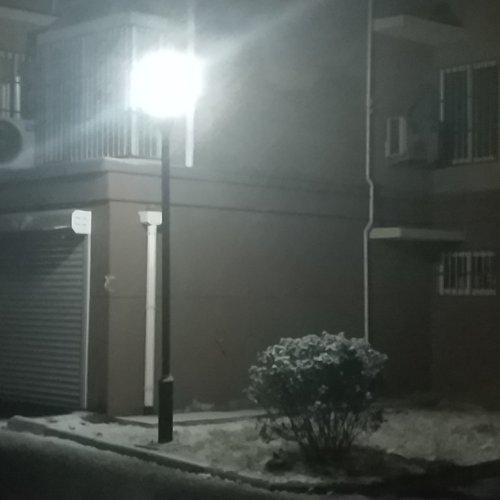 light-with-snow